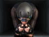 Aero testing Endura Encapsulator suit and Aeroswitch helmet