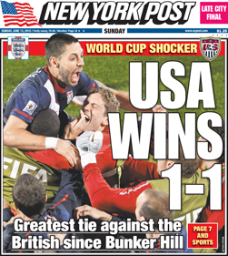 NY Post Headline