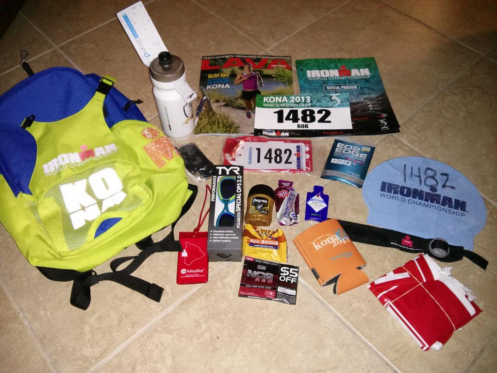Rob Grays 9:40 at Kona Race Report TriForce Triathlon Team LLC ...