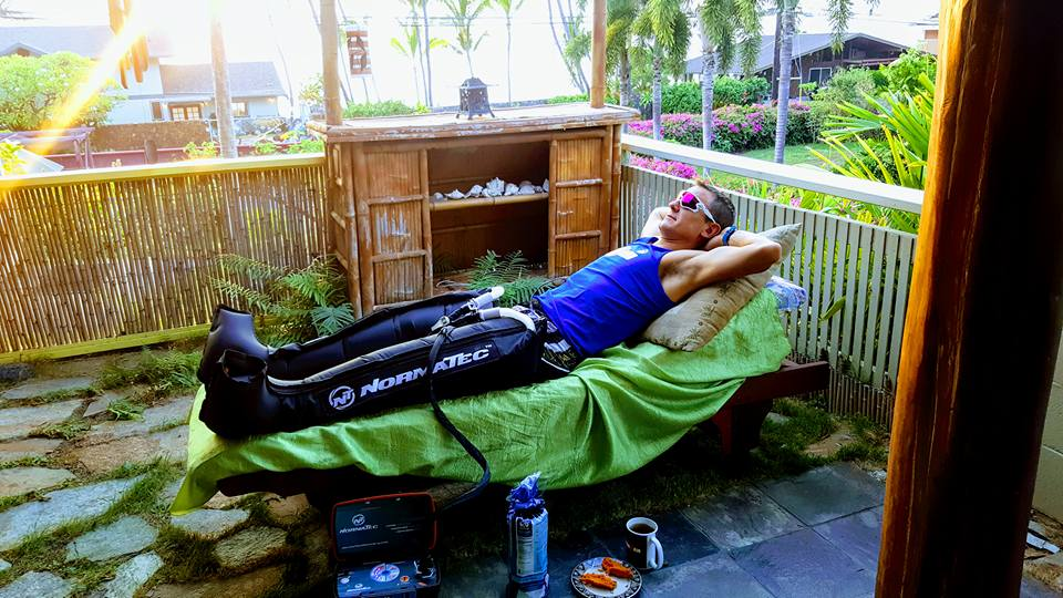 This is how I trained during race week!