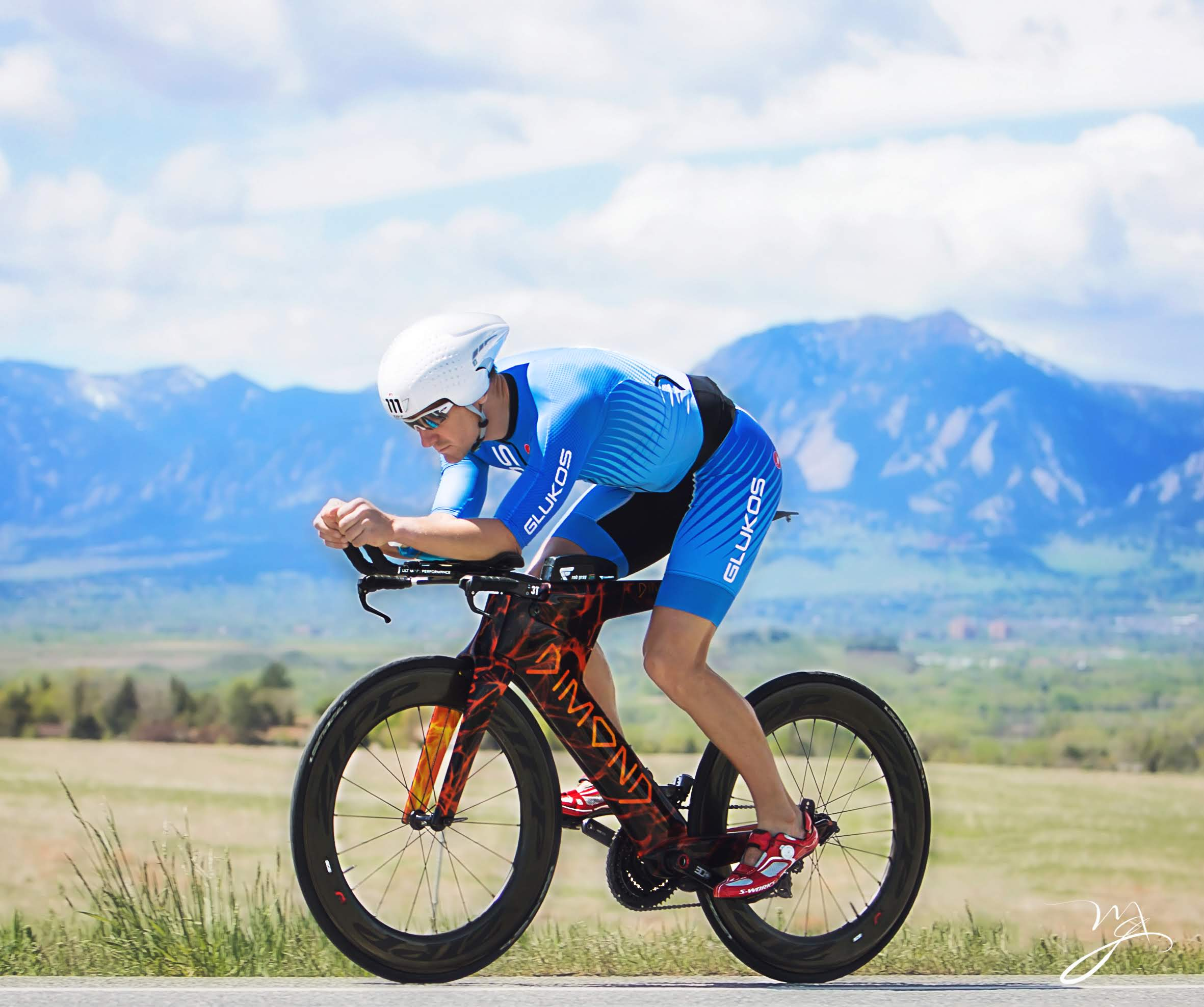 Riding in Boulder